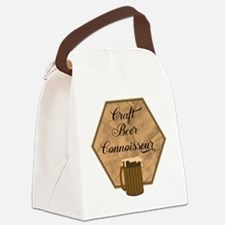 Craft Beer Connoisseur Canvas Lunch Bag