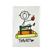 Basic Teacher Rectangle Magnet (10 pack)