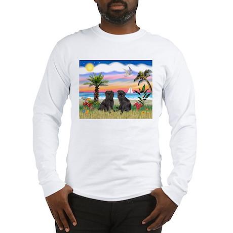 Palms - Brussels Griffon Pups Long Sleeve T-Shirt