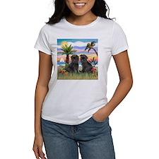 Palms - Brussels Griffon Pups Tee