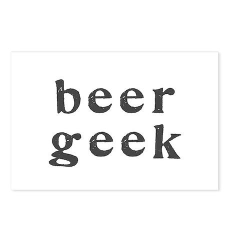 beer geek - Postcards (Package of 8)