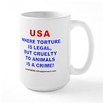 TORTURE Large Mug