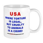 TORTURE Mug
