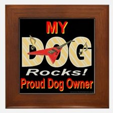 I'm A Rock Star Who Are You? Framed Tile