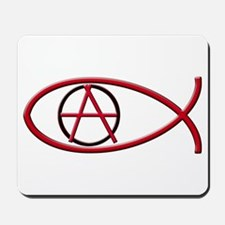 Anarchy Ichthus Mousepad