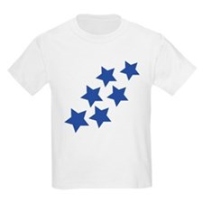blue star rain T-Shirt