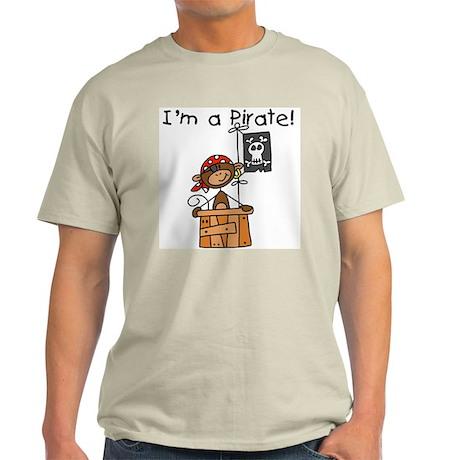 Monkey I'm a Pirate Light T-Shirt