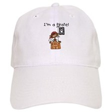 Monkey I'm a Pirate Baseball Cap