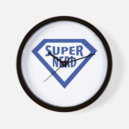 super nerd icon Wall Clock