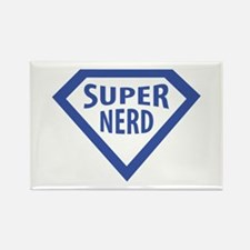 super nerd icon Rectangle Magnet (100 pack)