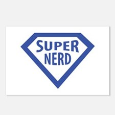 super nerd icon Postcards (Package of 8)