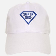 super nerd icon Baseball Baseball Cap