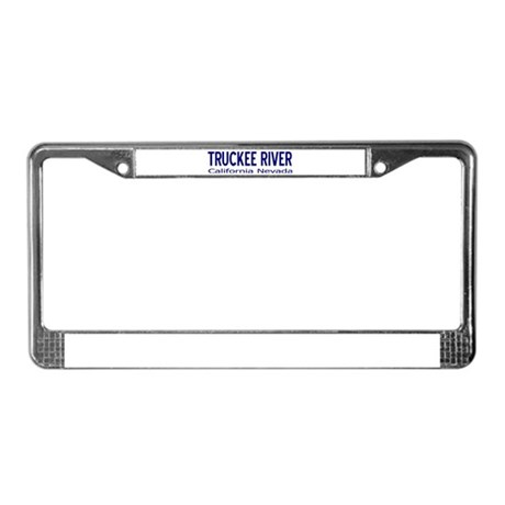 Truckee River License Plate Frame