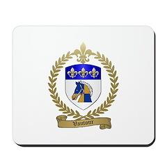 VAUTOUR Family Crest Mousepad