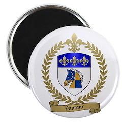 VAUTOUR Family Crest Magnet