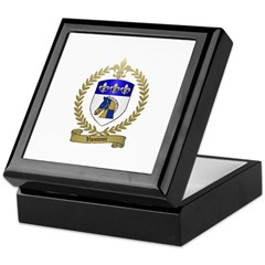 VAUTOUR Family Crest Keepsake Box