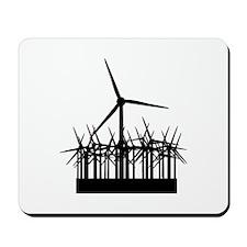 Environment Wind Power Mousepad