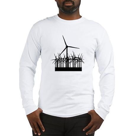 Environment Wind Power Long Sleeve T-Shirt