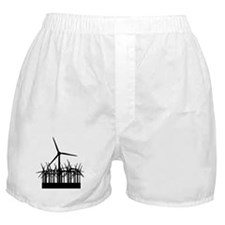 Environment Wind Power Boxer Shorts