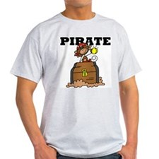 Pirate with Gold T-Shirt