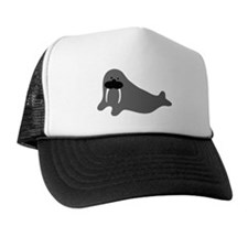 comic walrus icon Trucker Hat