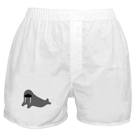 comic walrus icon Boxer Shorts