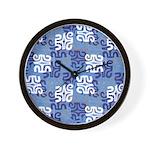 Swanky Mo Blues Wall Clock