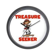 Treasure Seeker Wall Clock