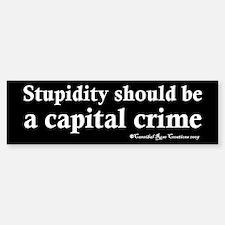 Death To Stupid Bumper Bumper Bumper Sticker