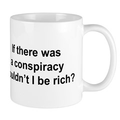 Masonic Conspiracy Theory Mug