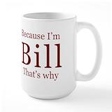 Bill Large Mugs (15 oz)