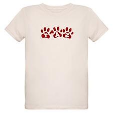 Taz Paw Prints T-Shirt