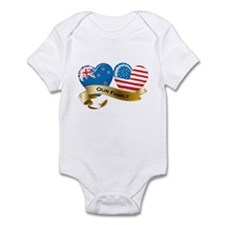 New Zealand/USA Flag_Our Family Onesie