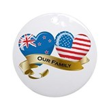 New zealand Round Ornaments