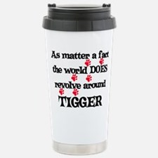 The World Revolves Around Tig Travel Mug