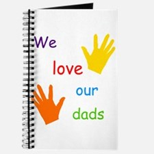 We Love Our Dads Journal