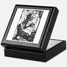 Temptation of Saint Anthony Keepsake Box