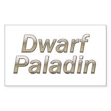 Dwarf Paladin Rectangle Decal
