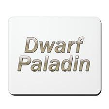 Dwarf Paladin Mousepad
