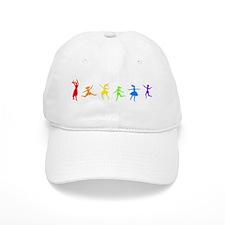 Rainbow Dancers Baseball Cap