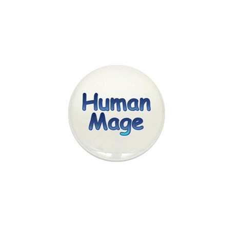 Human Mage Mini Button