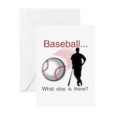 Baseball What Else Greeting Card