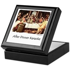 JC Karaoke Keepsake Box