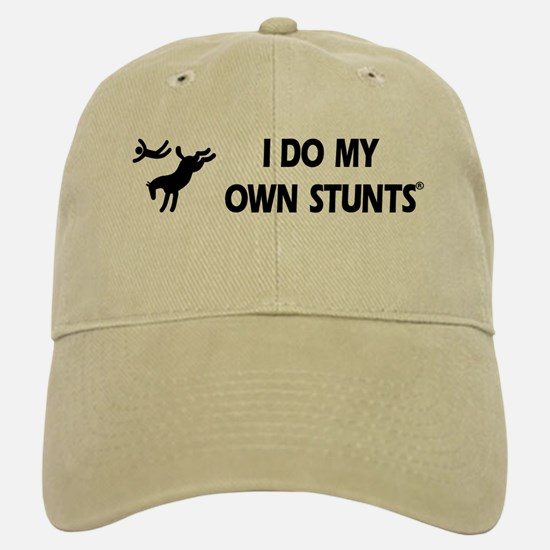 Horse I Do My Own Stunts Cap