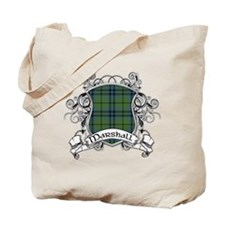 Marshall Tartan Shield Tote Bag