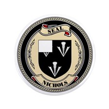 "Seal - Nichols 3.5"" Button (100 pack)"