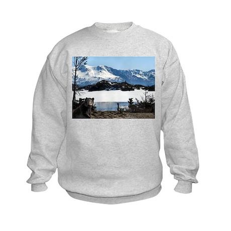 Alaska Bear Logo - Kids Sweatshirt