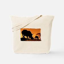 Rhino Family Tote Bag