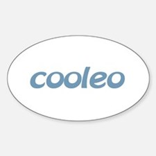 cooleo Oval Decal