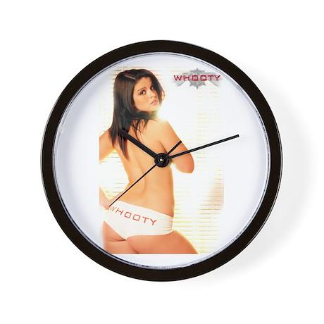 WHOOTY WENDY Wall Clock